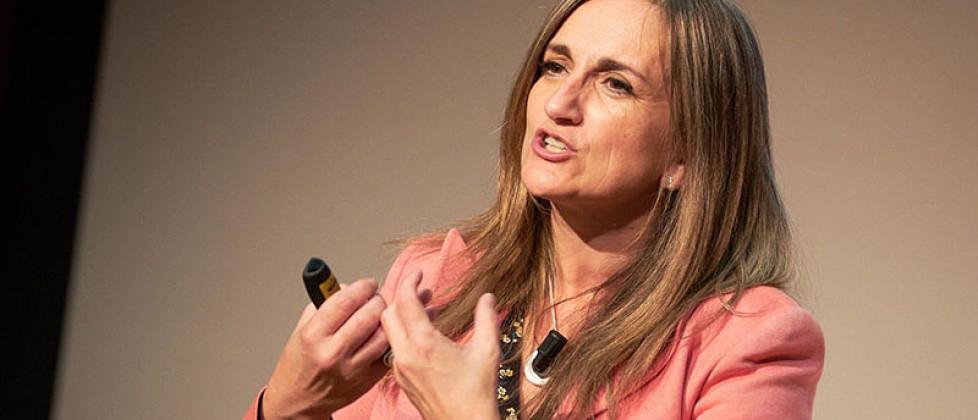 """Consuelo Verdú, """"Consejos para emprender con Lean Startup desde el aula"""" en #foroe"""