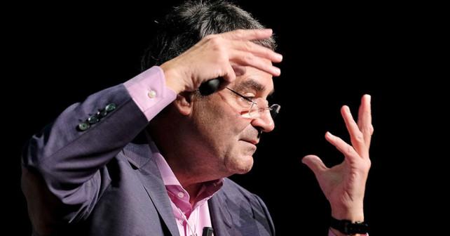 Foro E: Conferencia Miguel Ángel Ariño - La toma de decisiones en entornos complejos. Espacio Cultural de CajaCanarias © Aarón S. Ramos/FYDE
