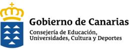 Logo consejeria Educación, Universidades, Cultura y Deportes